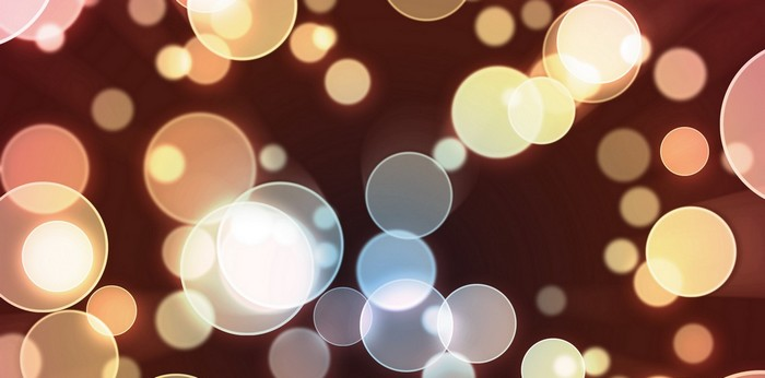 Beautiful abstract background of circles.
