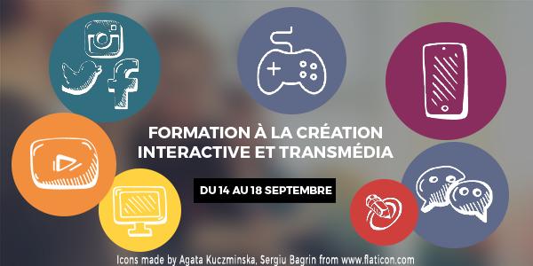 Formation à la création interactive et transmedia
