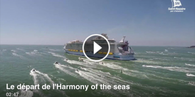 Protégé : Harmony of the Seas : succès du live Facebook pour Saint-Nazaire