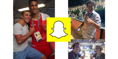 Comment France TV Sport utilise Snapchat