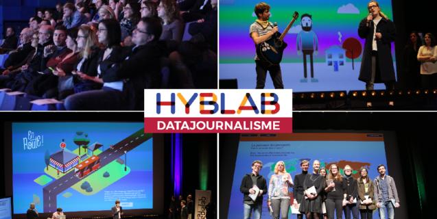Retour sur la soirée de clôture du HybLab datajournalisme de Nantes 2017