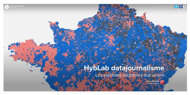 HybLab datajournalisme : les élections racontées autrement