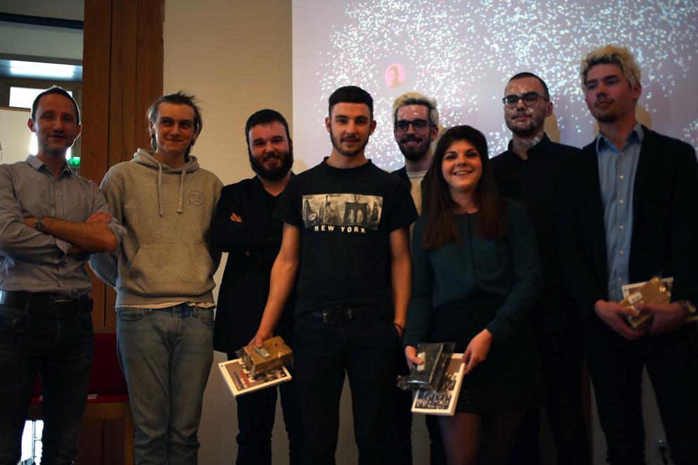 Equipe gagnante du hyblab presidentielle