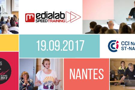 Médialab SpeedTraining 2017 : places en prévente jusqu'au 30 juin !