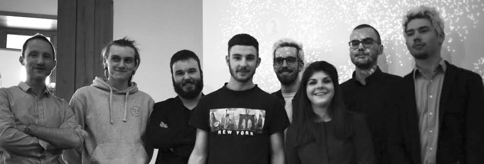 """La team """"Parrains2017"""" - HybLab Datajournalisme Spécial Présidentielle"""