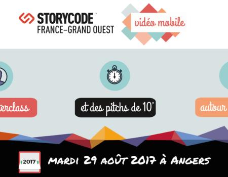 Apéro StoryCode «Vidéo mobile» le 29 août à Angers – Appel à pitchs