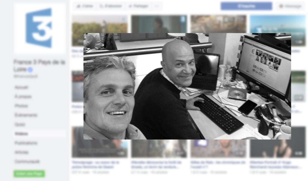 Facebook team france 3 PDL