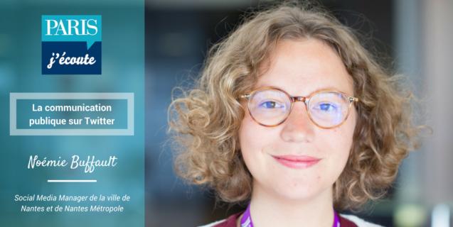 La communication publique sur Twitter : le retour d'expérience de Noémie Buffault