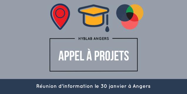 En mars, portez un projet au HybLab «événementiel» d'Angers ! Réunion d'information le 30 janvier