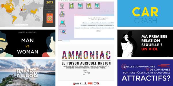 10 projets de datajournalisme réalisés au HybLab de Rennes
