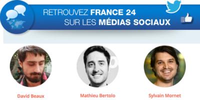 3 conseils de l'équipe Social Media de France 24