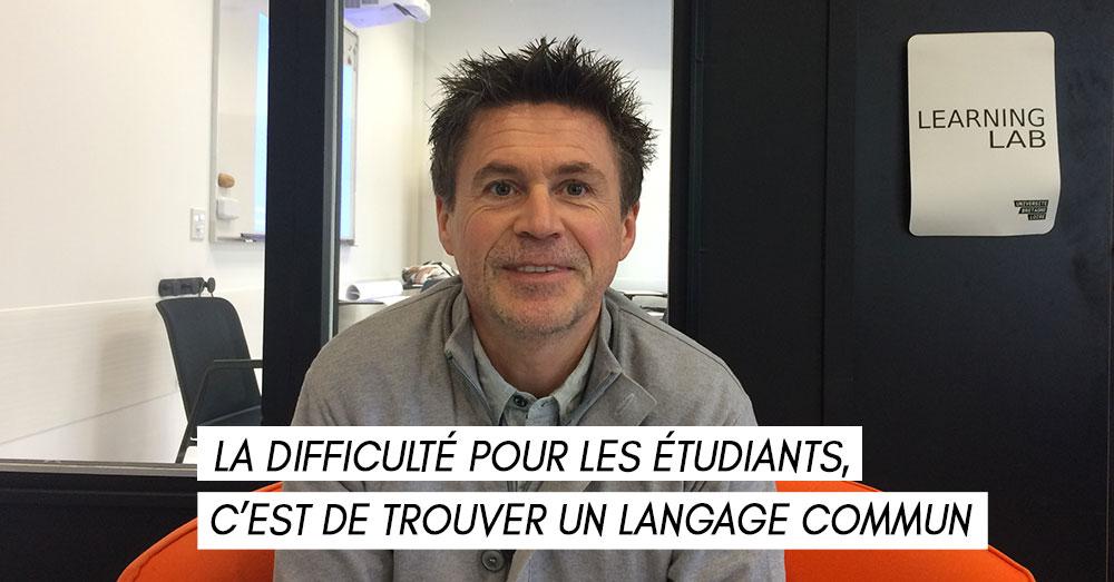 Christophe Gimbert, responsable de master à Sciences Po Rennes