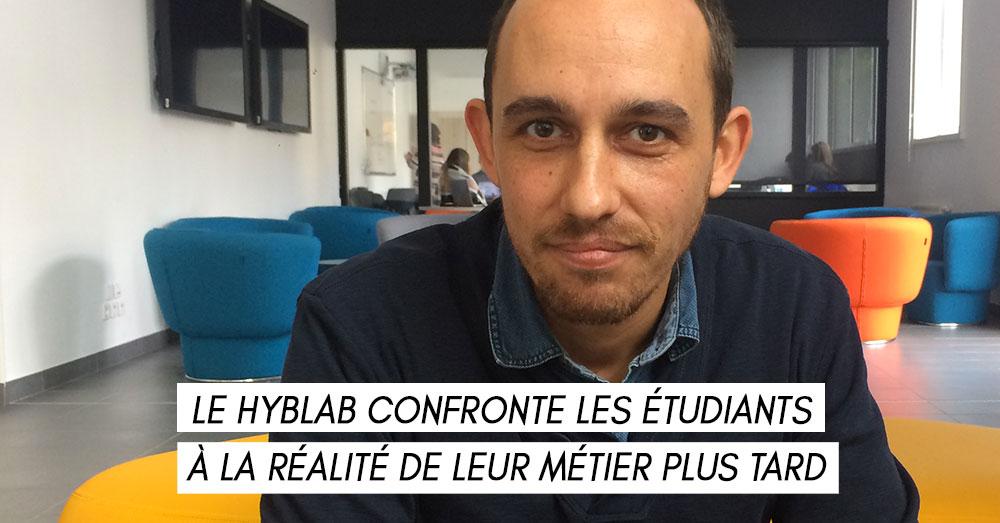 François-Guillaume Derrien, journaliste à Ouest-France, lauréat du hybLab rennais
