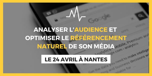 ANALYSE D'AUDIENCE ET RÉFÉRENCEMENT NATUREL