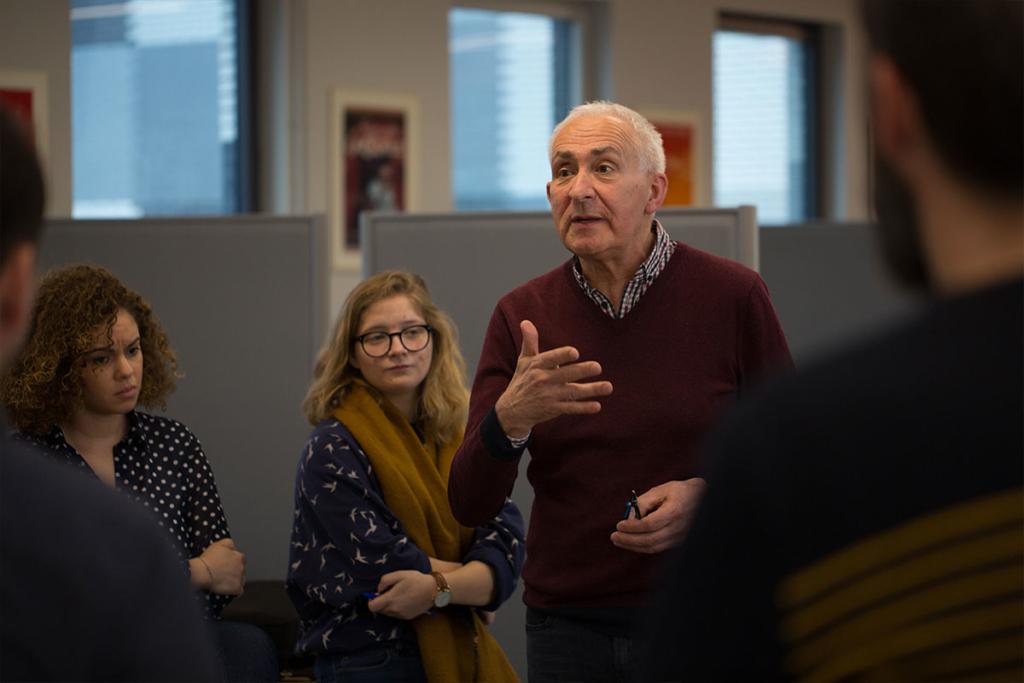 Michel Barthen, directeur régional de France 3 Pays de la Loire et membre du jury