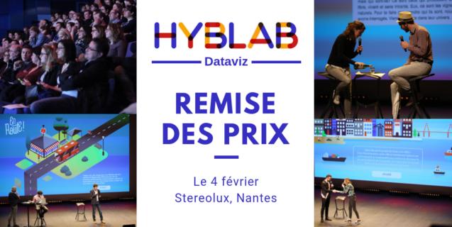 Découvrez les 9 projets de dataviz du HybLab nantais le 4 février à Stereolux
