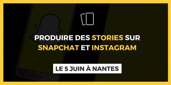 Snapchat et Instagram stories