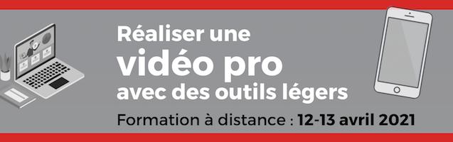 Réaliser une vidéo pro avec des outils légers (formation à distance)
