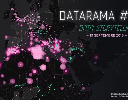 Troisième édition de Datarama, le 19 septembre à Nantes